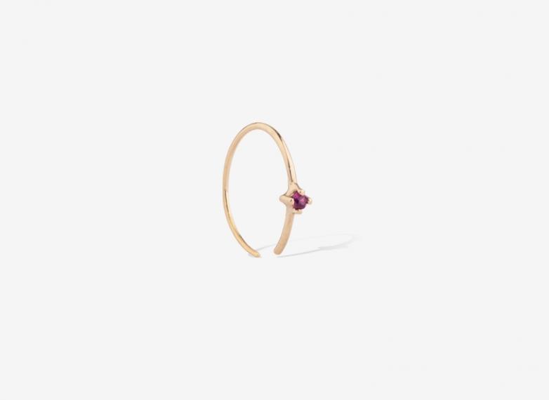 Bloom Single Earring, 9ct Gold