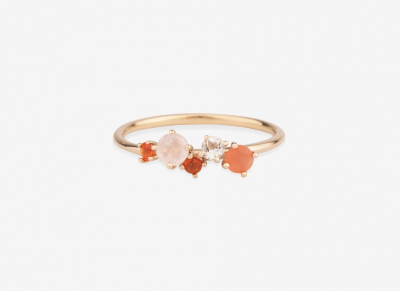 Wildflowers in Bloom I Ring, 9ct Gold