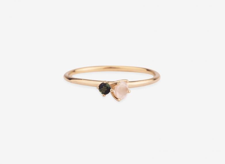 Wild Bloom Ring, 9ct Gold