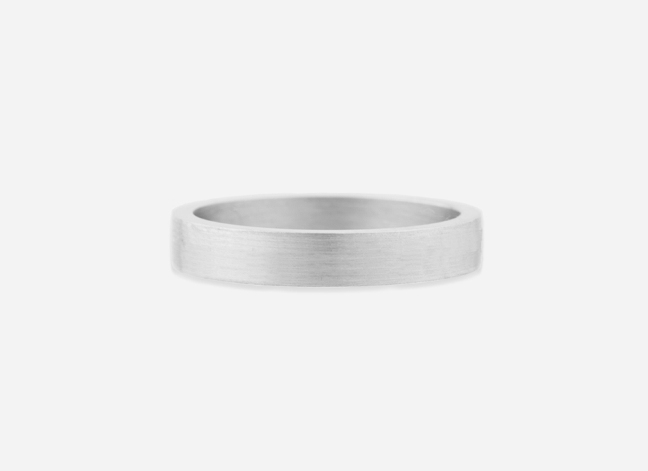 Classic Band 40 - Wedding Ring in Silver