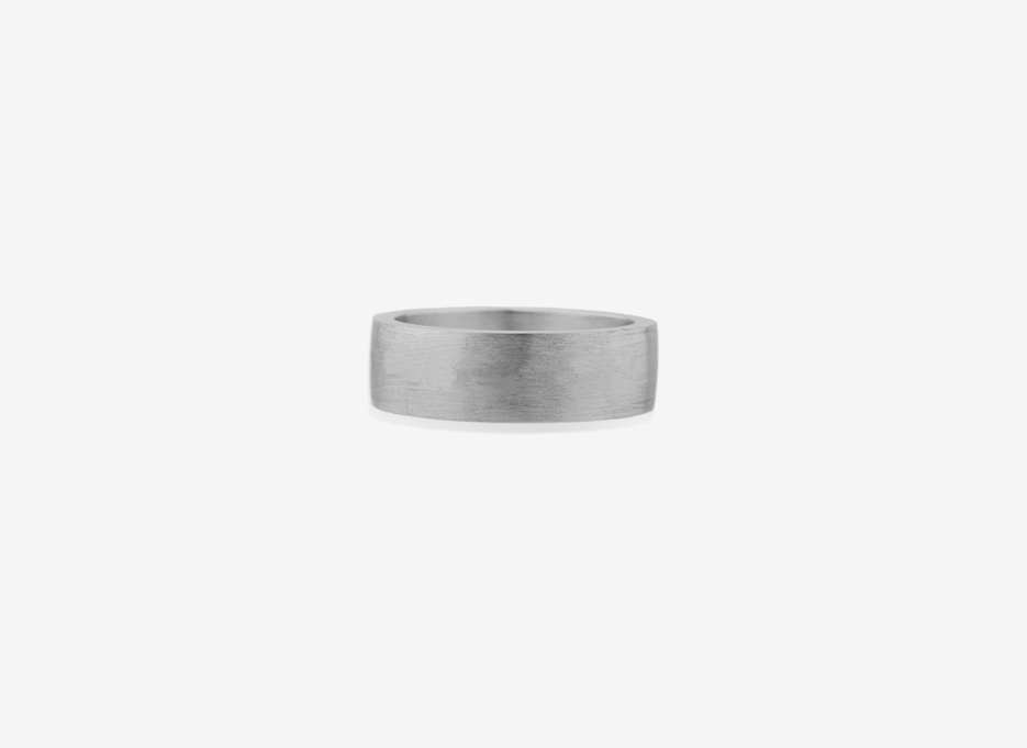 Isherwood Oversized Band 7mm, Sterling Silver