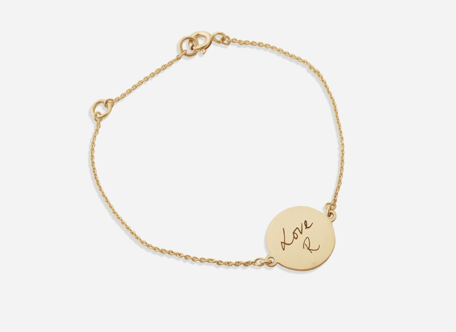 Isabel Graduation Bracelet in Gold plated Silver by Annotated Studios 145