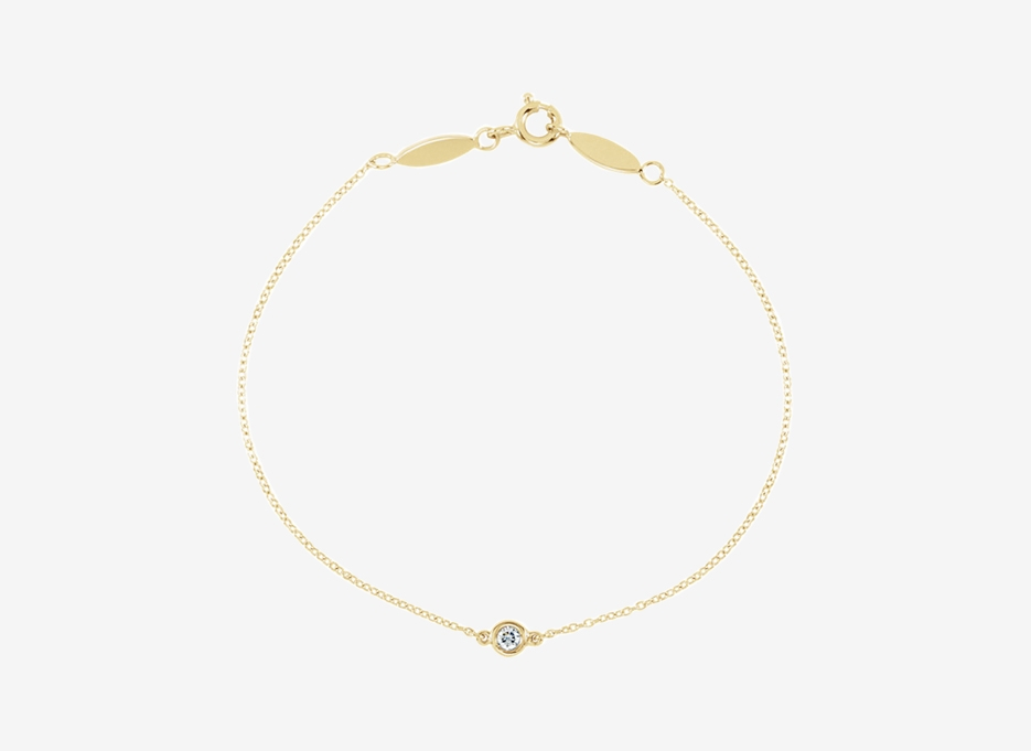 Maud Diamond Bracelet - 14ct Yellow Gold