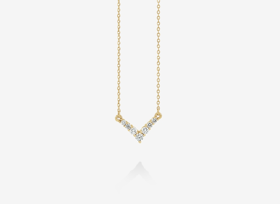 Mayen Necklace - 14ct Yellow Gold