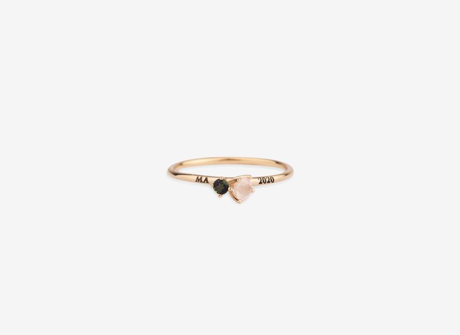 Bloom Ring in Gold