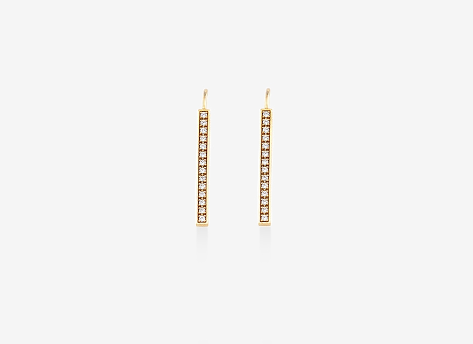Pulp Earrings - 14ct Yellow Gold