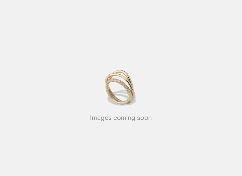 Sebald Small Signet Square Ring, Gold