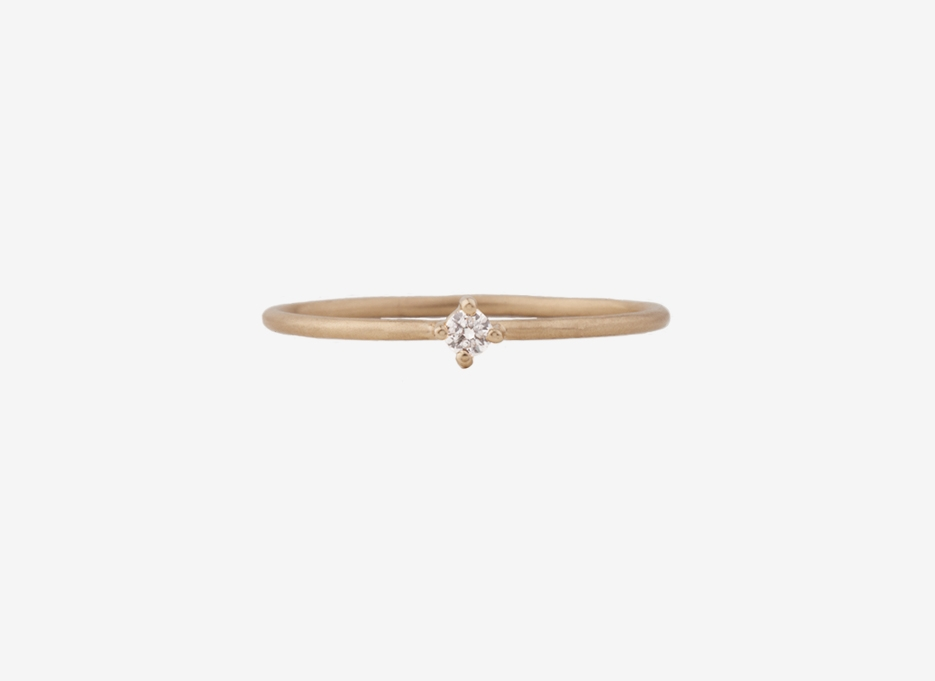 Bloom Ring, 9ct Gold
